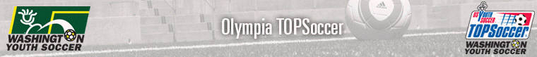 TOPSoccer Olympia banner